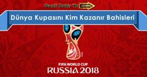dünya kupasını kim kazanır
